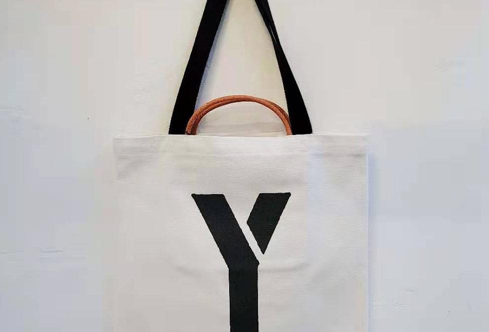 Y FOR Yak TOTE BAG