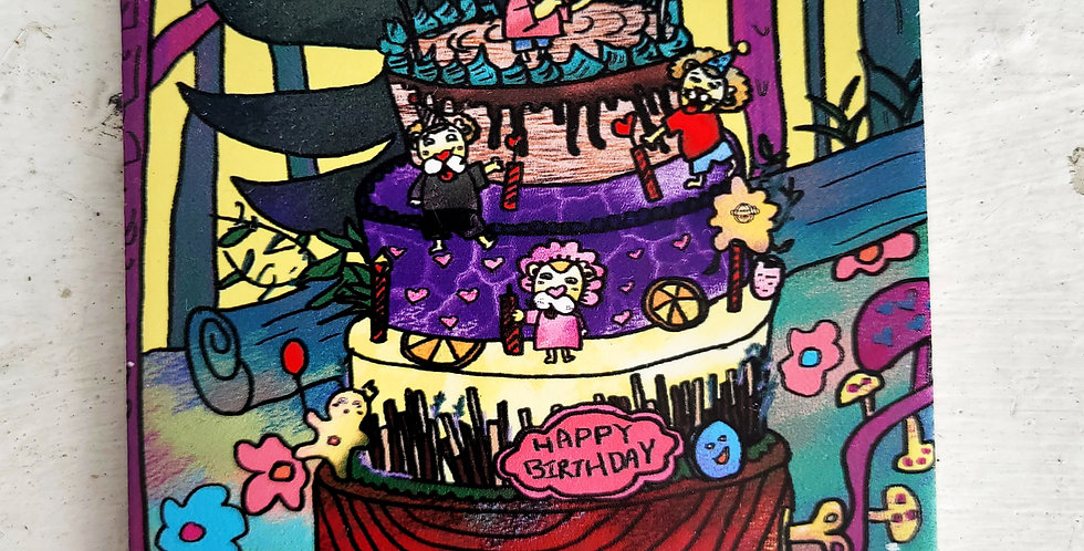 Celebration Card series <Happy Birthday>