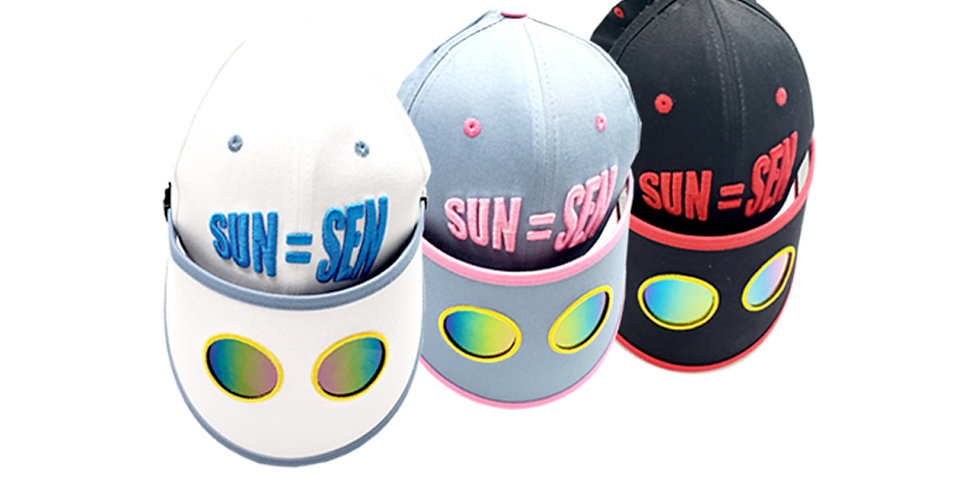 Lost Self sun visor cap