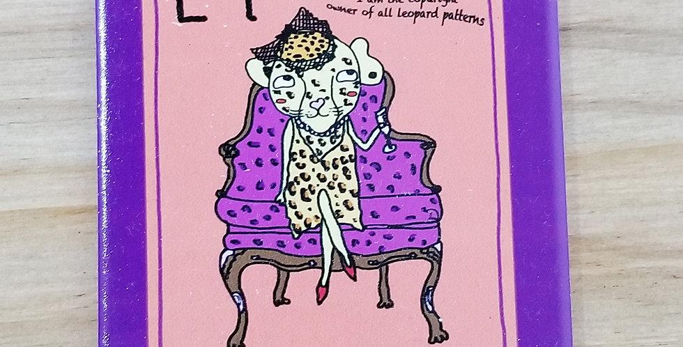 Animal Tile series < L For Leopard>