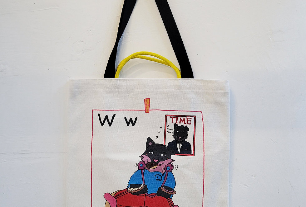 W FOR Wolf TOTE BAG