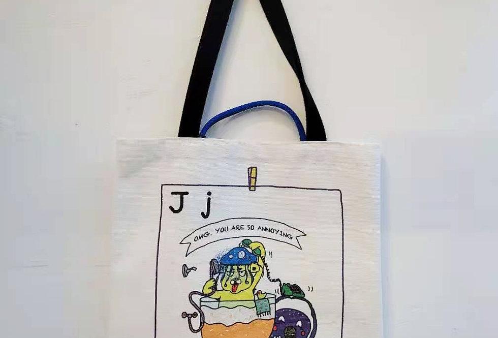J FOR Jellyfish TOTE BAG