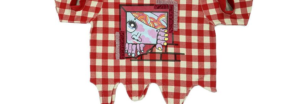 CLOAK CHECKS t-shirt