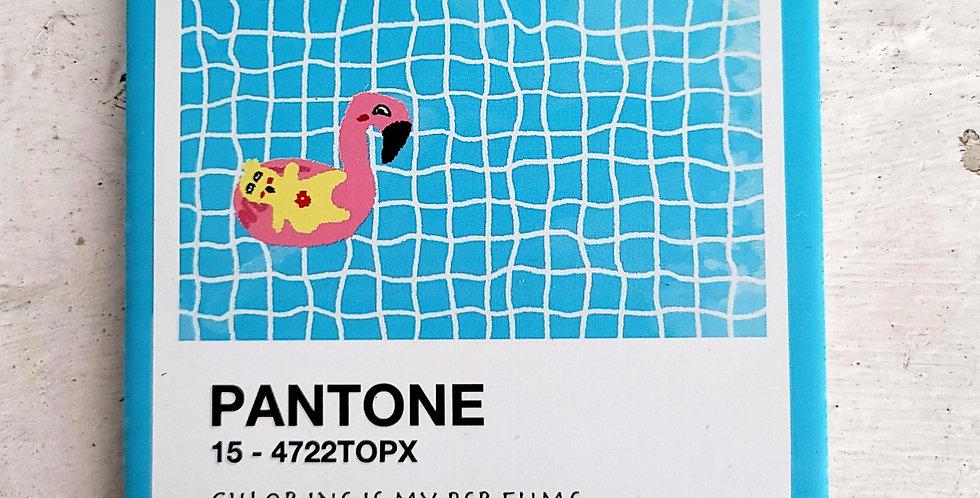Lemon C Pantone Series <Swimming Pool>