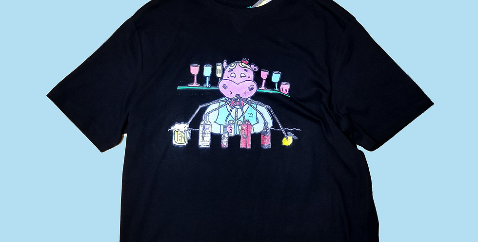 HIPPO BAR TENDER LIFE T-SHIRT