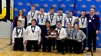 HNS Speech Team Wins The Runner-Up Trophy At State Competition