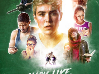 Screenplay Click Like to Die TOP TEN in Crimson Screen Horror Film Festival!