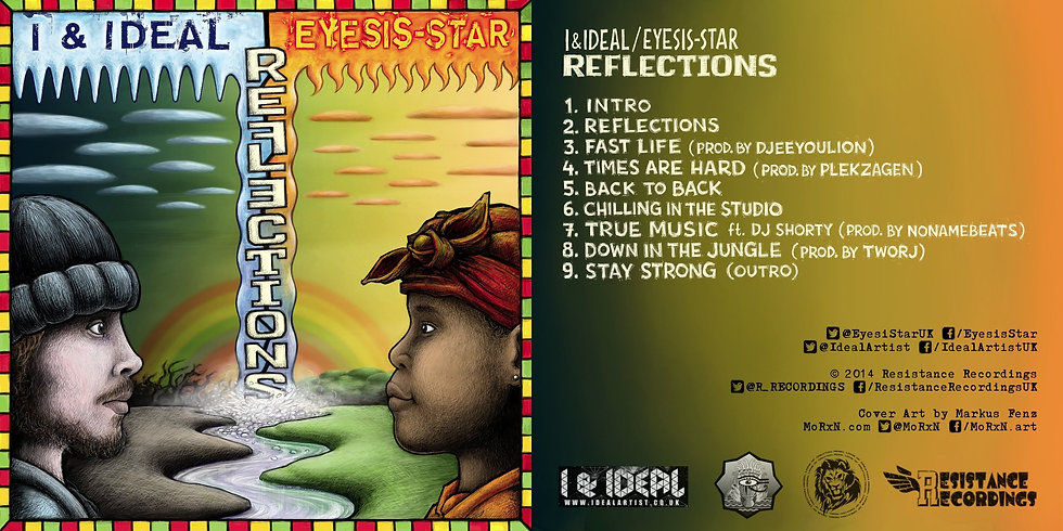 Reflections - Eco Friendly CD