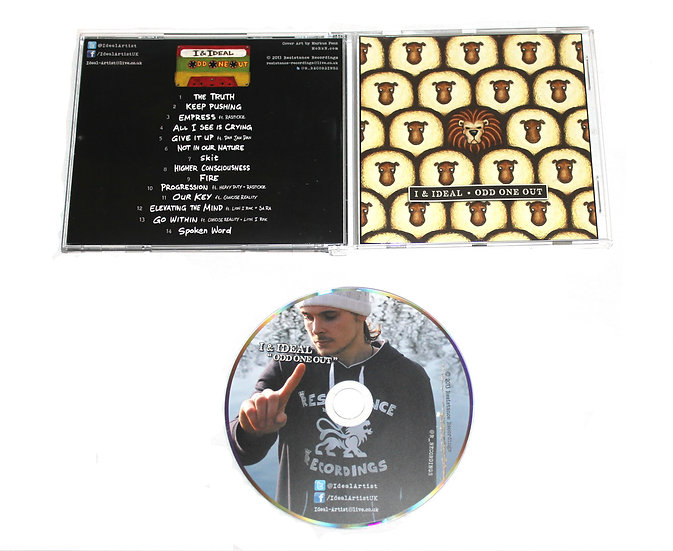 Odd One Out - Jewel Case CD