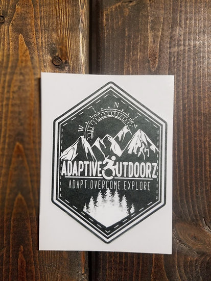 Adaptive Outdoorz Sticker
