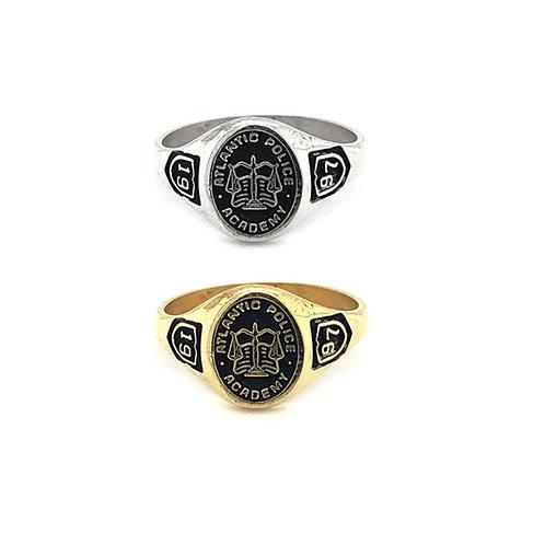 Atlantic Police Academy - Graduation Ring Small 10x8mm