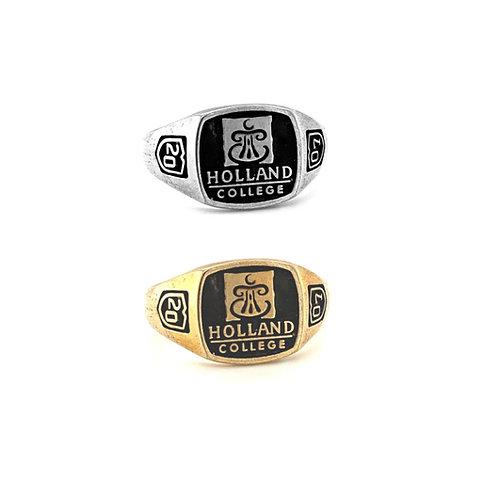 Holland College Graduation Ring Medium 12x12mm