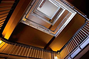 Artwork, Ellis Island Stairs