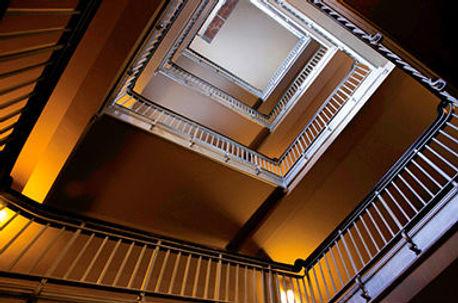 artwork, Ellis Island Stairwell