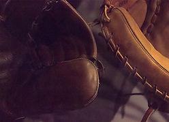 artwork, baseball mitt