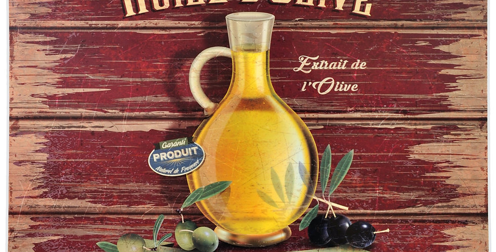 Olive Oil Laminated Placemat