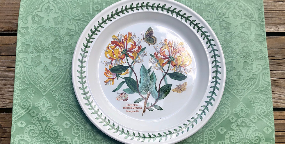 French Placemat Coated Jacquard Jade Clara