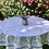 """Thumbnail: French Tablecloth Coated 70"""" Round Beige Lavandine"""
