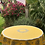 """Thumbnail: French Tablecloth Coated 70"""" Round Yellow Valensole"""