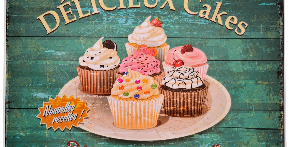 Cupcakes Laminated Placemat