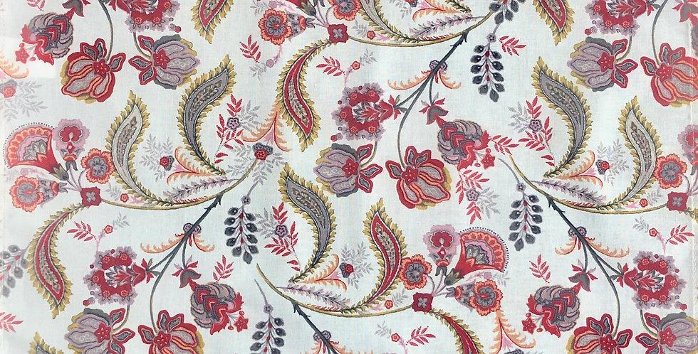 Red Bastide Printed Cotton Napkin