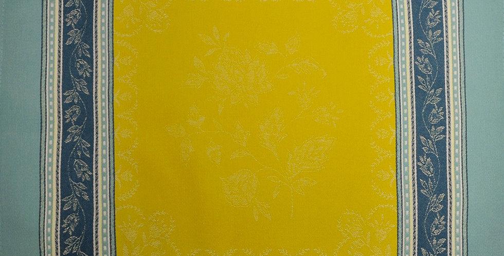 French Napkin Jacquard Lime Ramatuelle