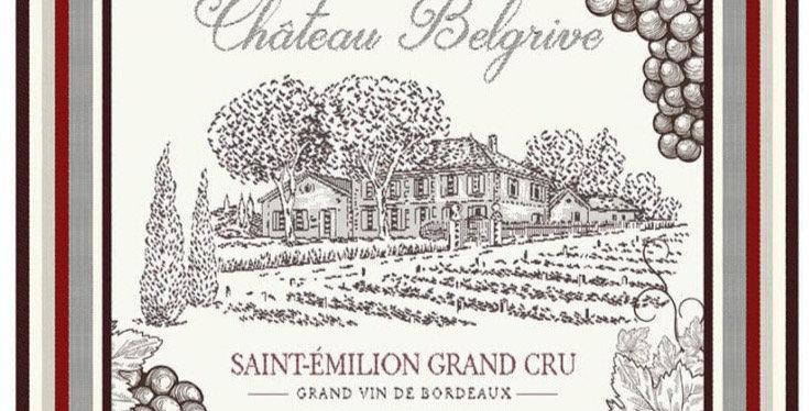 Bordeaux Printed Cotton Kitchen Towel