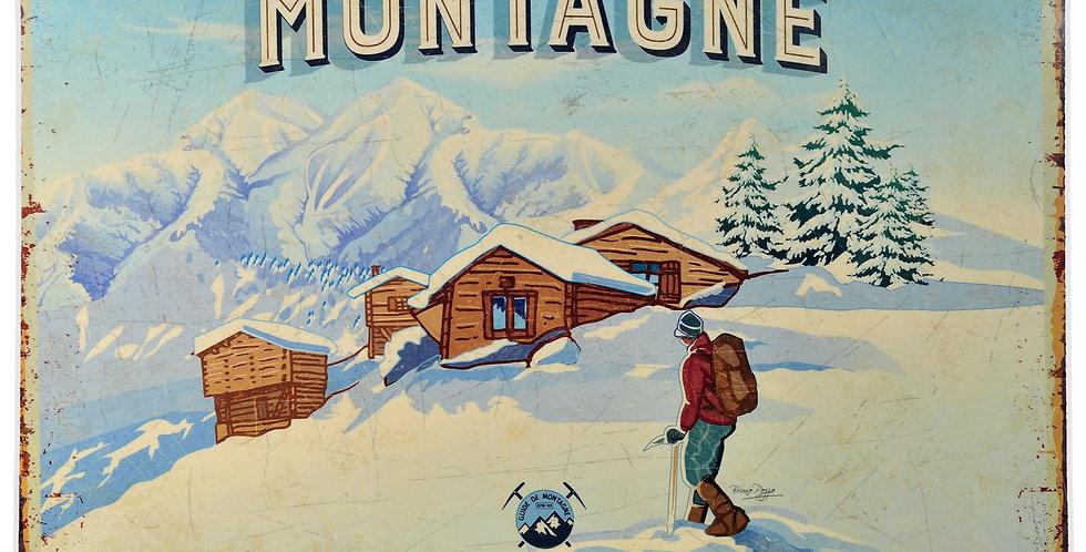 Mountain Top Laminated Placemat