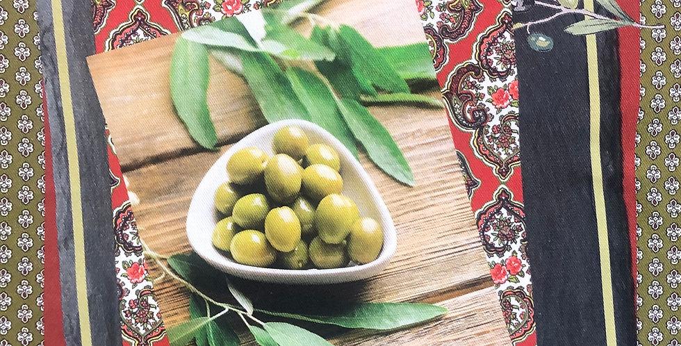 Olives #1 Cotton Kitchen Towel