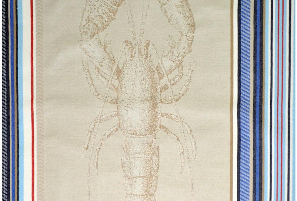 Mr. Lobster Jacquard Kitchen Towel