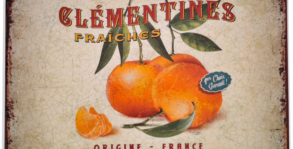 Clementines Laminated Placemat