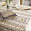 Thumbnail: French Tablecloth Coated Striped Blue Moustiers