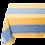 Thumbnail: French Tablecloth Jacquard Blue/Yellow Grignan