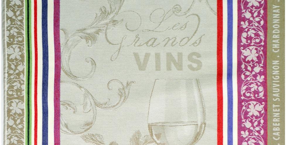Wine Jacquard Kitchen Towel