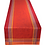 Thumbnail: French Table Runner Jacquard Red Massilia