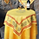 Thumbnail: French Table Topper Cotton Yellow Clos des Oliviers