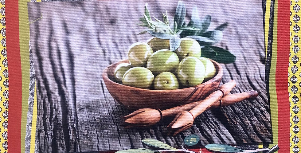 Olives #3 Cotton Kitchen Towel