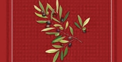 Red Nyons Printed Cotton Napkin