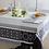 Thumbnail: French Tablecloth Jacquard Black Marius
