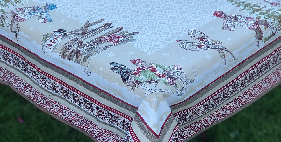French Tablecloth Jacquard Tapestry Lugeur