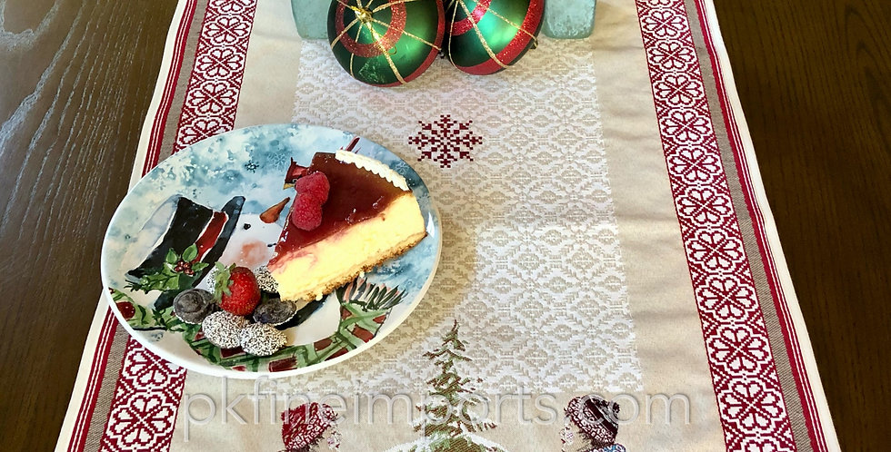 Lugeur Jacquard Tapestry Table Runner