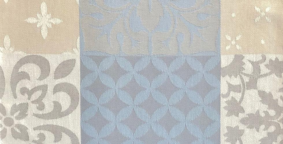 French Napkin Jacquard Blue/Grey Carces
