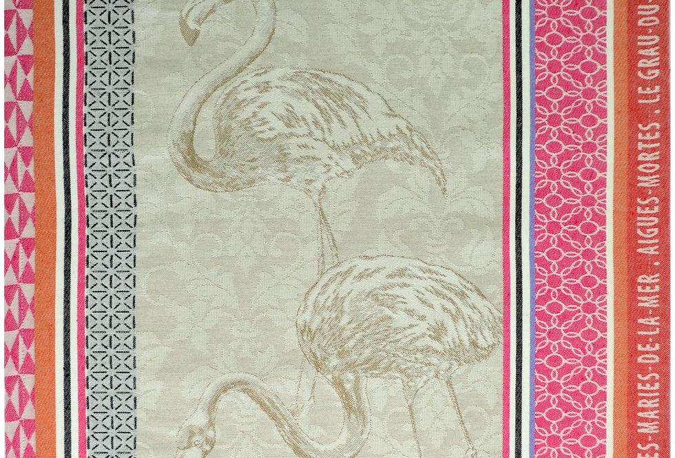 Flamingos Jacquard Kitchen Towel