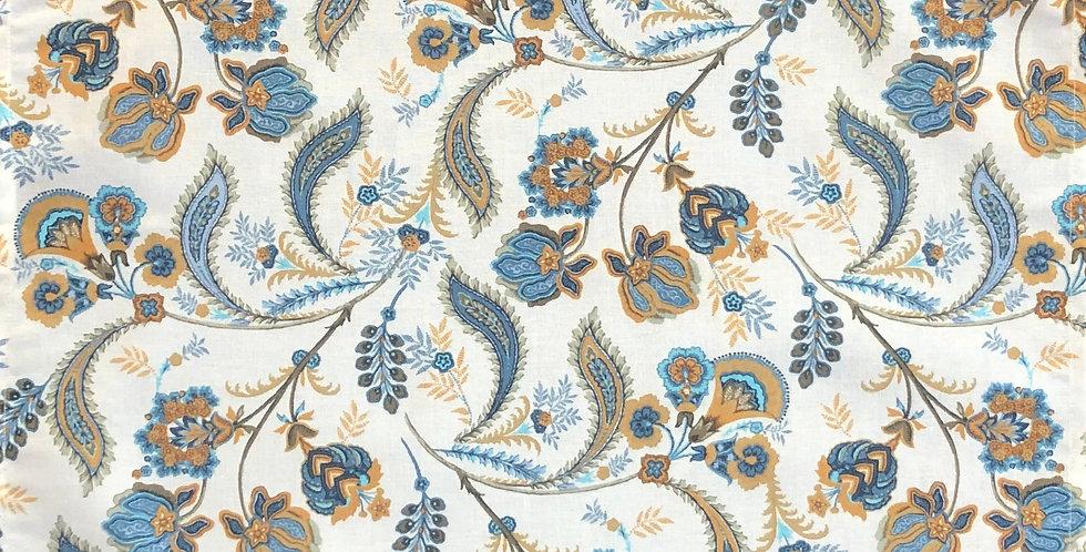 French Napkin Cotton Blue Bastide