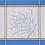 Thumbnail: French Napkin Jacquard Ecru/Blue Grignan
