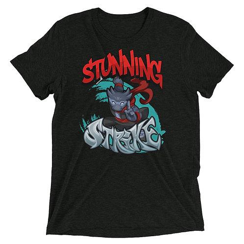 Stunning Strike - Black Kobold Triblend T-Shirt