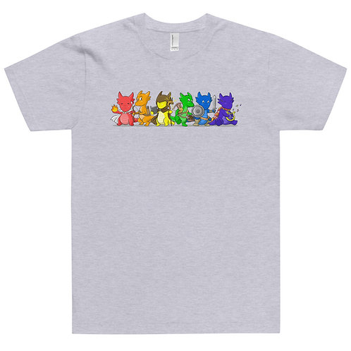 Kobold Rainbow Jersey T-Shirt