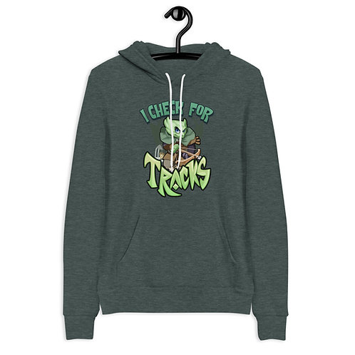 I Check For Traps - Green Kobold Hoodie