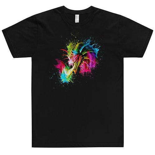 Rainbow Dragon Jersey T-Shirt