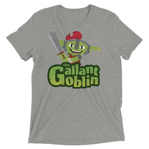 Gallant Goblin Mascot Logo Triblend T-Shirt